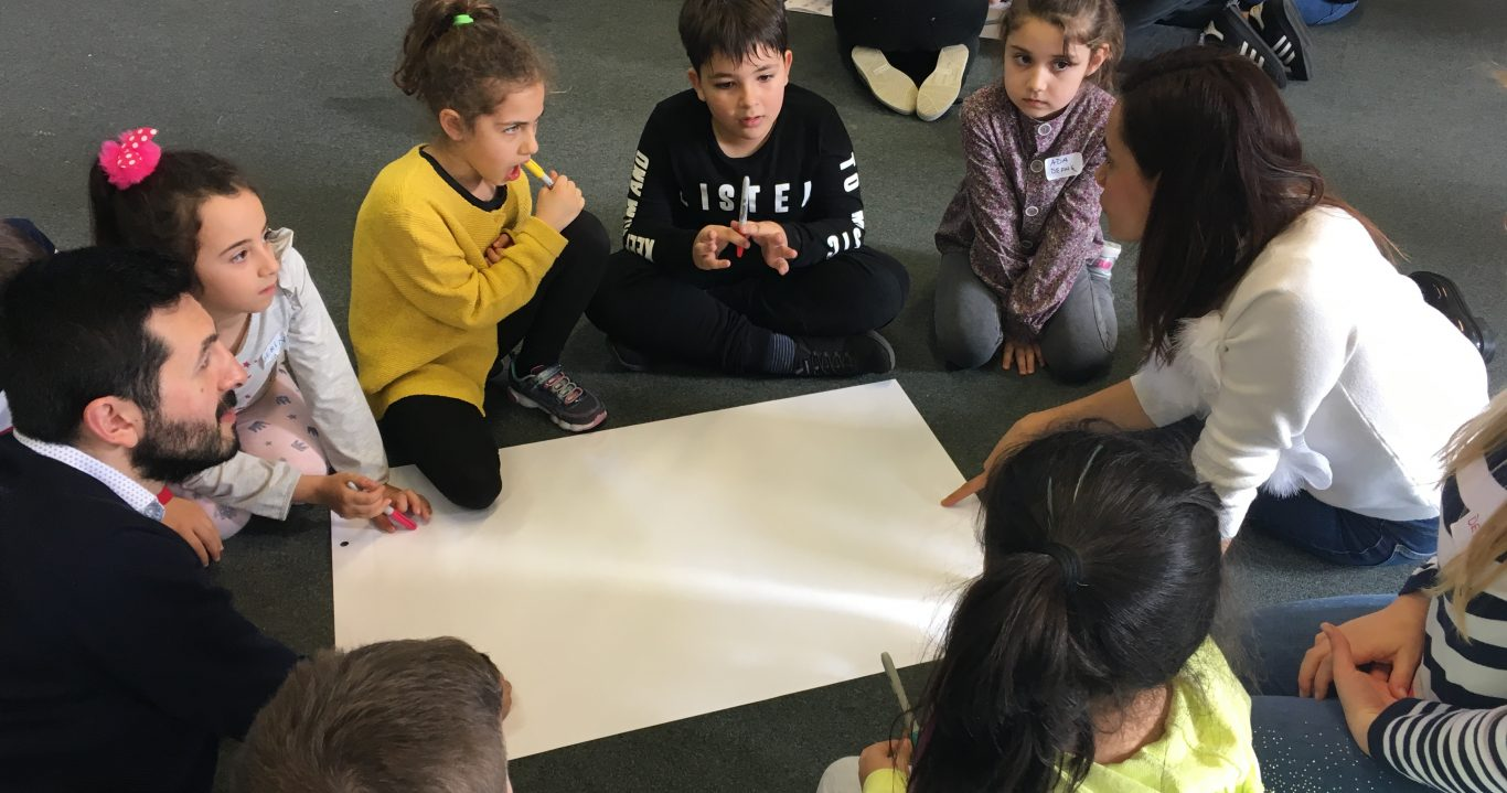 @ THE HEART OF COMMUNITIES: Developing Learner-led Active Citizenship Initiatives in Europe